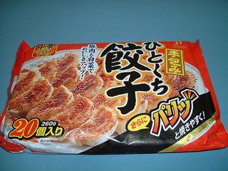 今話題の中国製冷凍餃子